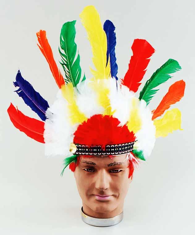 Головной индейца своими руками