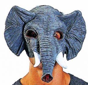 Полумаска Слон