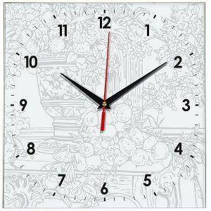 Часы раскраска Натюрморт
