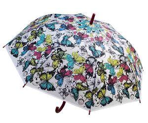Зонт-трость Бабочки N 3