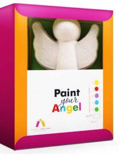 Набор Ангел с красками Шар-папье