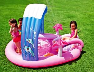 Надувной игровой центр Hello Kitty, 211х163х121 см