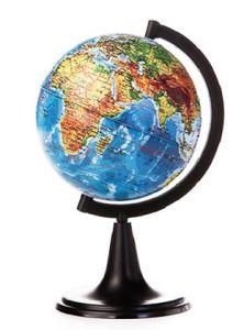 Глобус Земли физический 120 мм