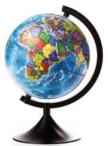 Глобус Земли политический 210 мм