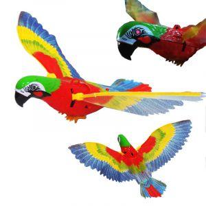 Летающий и говорящий попугай