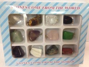 Камни-брелки малые (набор 12 шт)