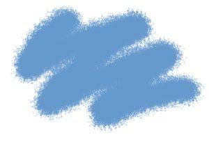 Краска серо-голубая