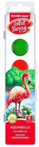 Краски акварельные ArtBerry (6 цветов с УФ защитой яркости)