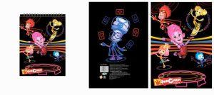 Блокнот ФИКСИКИ-Цирк (А6, 60 листов)