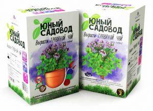 Набор Юный садовод 'Вырасти травяной чай'