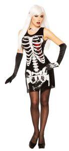 Платье  Скелет Кровавое Сердце