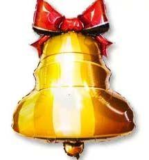 Шар-ФИГУРА Колокольчик с ленточкой (77*58 см)