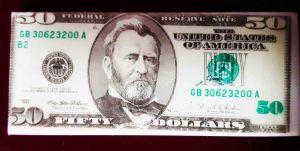 Ластик 50 долларов