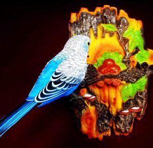 Попугай-повторюшка настенный (24,5 см)