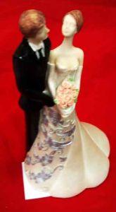 Свадебная пара (24 см)