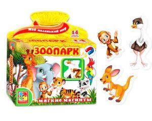 Игра на магнитах Зоопарк