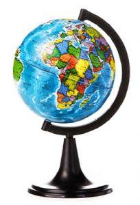 Глобус Земли политический 120 мм
