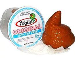 Какаха в йогурте