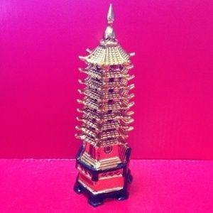 Пагода (15см. Золото)