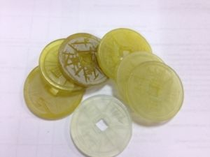 Монета  нефритовая