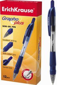 Ручка шариковая автоматическая GRAPHO (СИНЯЯ)