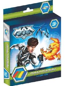 Пластилин Max Steel (10 цветов, 200 г)