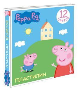 Пластилин Свинка Пеппа (12 цв.)