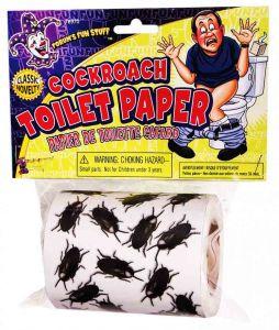 Туалетная бумага Тараканы