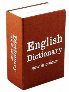 Книга-сейф Английский словарь мини